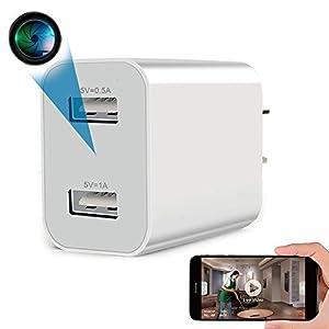 Flashandfocus.com 41Vcme0TGjL._SS300_ Spy Camera Wireless Hidden WiFi Camera with Remote Viewing, 2021 Newest Version 1080P HD Nanny Cam / Security Camera…