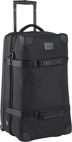 Burton Wheelie Double Deck Travel Bag, True Black Ballistic (Bag Wheelie Team)