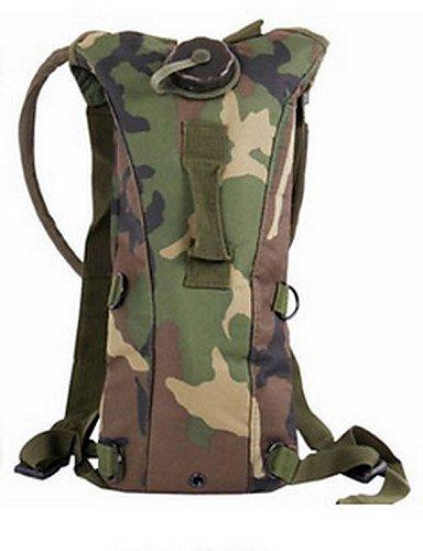 ZQ 2.5 L Trinkrucksäcke & Wasserblasen Camping & Wandern / Radsport Outdoor Multifunktions Camouflage TPU other