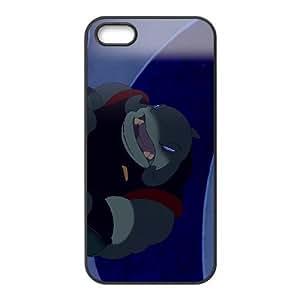 iPhone 5 5s Cell Phone Case Black Disney Lilo & Stitch Character Captain Gantu Xfhql