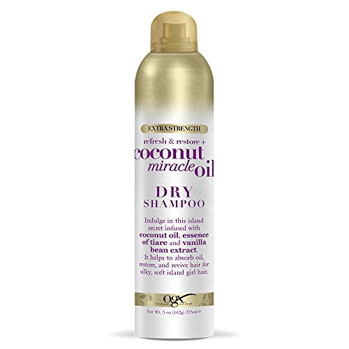 (OGX Extra Strength Refresh & Restore + Coconut Miracle Oil Dry Shampoo, 5 Ounce )