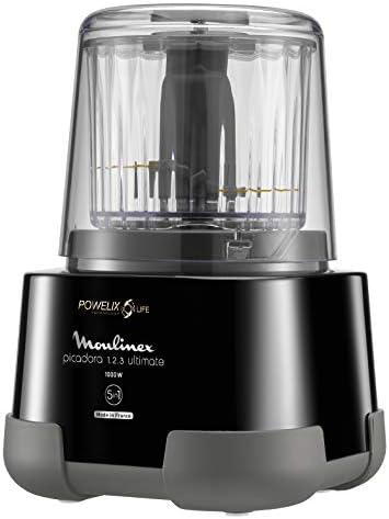 Moulinex DP810855 - Picadora eléctrica 1000 W, 2 cuchillas ...