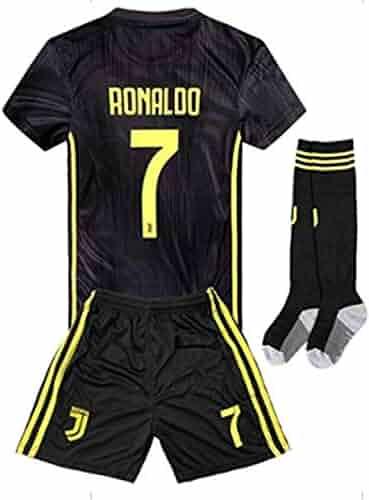 LISIMKE France Soccer Team Pogba Kid Youth Replica Jersey Kit Jersey /& Shorts /& Socks