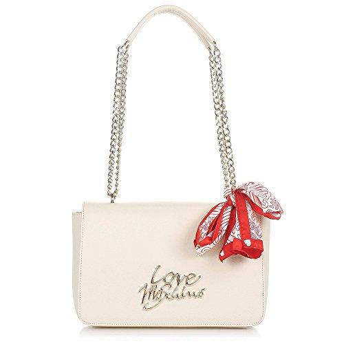 Love Moschino borsa a tracolla donna Pu avorio JC4046PP15LE0110 handbag P.18