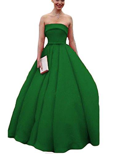 Plus Linea Drehouse the Da spalla Abiti Del Ballo 2018 Una Size Partito Donne Di Verde Principessa Cacciatore Di Off Di Promenade xgq1Trfgw