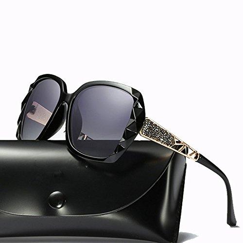 Las Señoras Ciclismo Marco De Gafas Casual Blue Sol Película Metal Protección Purple De Gafas GUOHONGCX Gafas De Protector De De Grandes Cegamiento Sol Polarizadas Color fwH8az