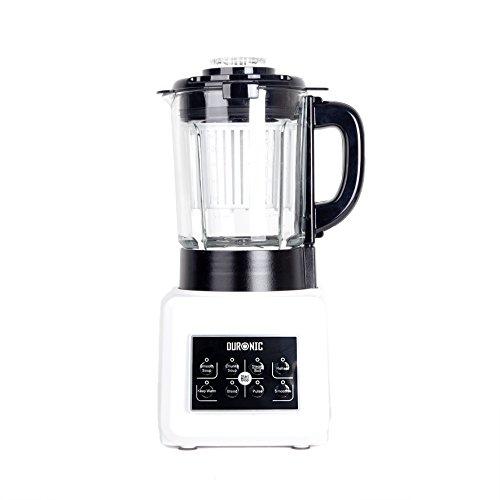 Duronic BL89 Batidora Americana de Vaso con Función para Sopas Máquina para Sopas Eléctrica Robot Cocina con Vaso de Cristal Termoresistente 1,75L Sopas, ...
