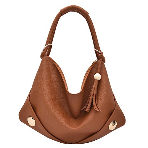 Beads Domybest Hit New Brown Women 2017 Bag Wooden Bag Casual Shoulder Color Tassel OAOqw0rx