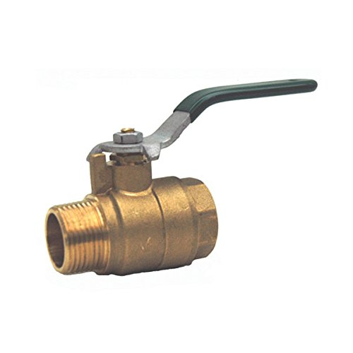 Red-White Valve 112RW5581 Full Port Male x Female Ball Valve, 1 1/2'' by Red-White Valve