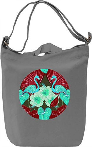 Tropical View Borsa Giornaliera Canvas Canvas Day Bag| 100% Premium Cotton Canvas| DTG Printing|