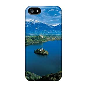 High Grade AccDavid Flexible Tpu Case For Iphone 5/5s - Lake Bled