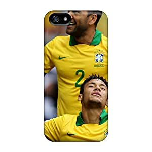 Premium Durable The Player Number 2 Of Barcelona Daniel Alves Fashion Tpu Iphone 5/5s Protective Case Cover