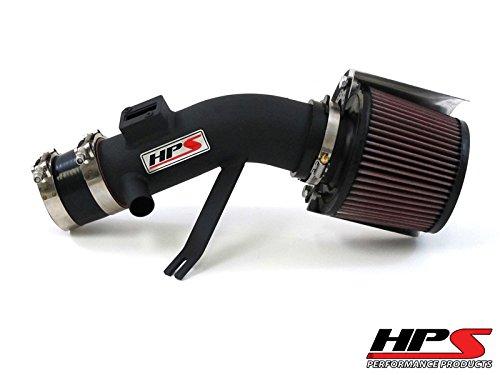 Nissan Altima Horsepower (07-12 Nissan Altima V6 3.5L HPS Shortram Air Intake Kit + K&N Air Filter Black 08 Short Ram)