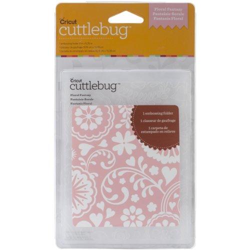 Provo Craft Cuttlebug A2 Embossing Folder, Floral Fantasy