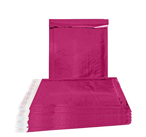 20 Pack Poly Bubble mailers 7x9. Padded envelopes 7 x 9 Hot Pink Cushion envelopes. Peel and Seal. Top Quality Laminated Shipping Bags for mailing, Packing. Packaging in Bulk, Wholesale Price. -