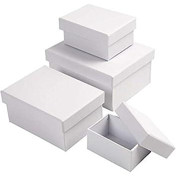Cajas rectangulares, medidas 5x7,5+7x9,5 cm, medidas 8,