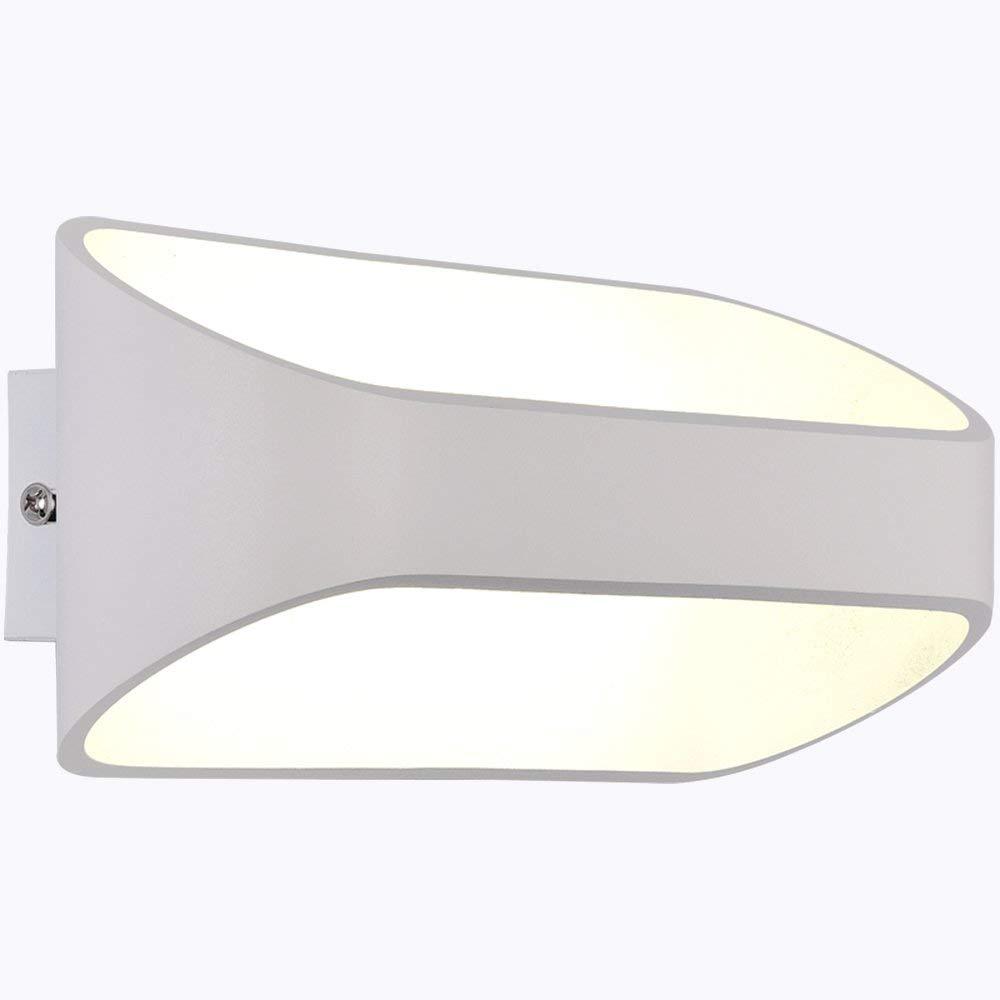 FXING Wandleuchte LED einfache Moderne kreative Wandleuchte für Bett, Schlafzimmer, Gang, Balkon (Größe  16  8 cm-5W)