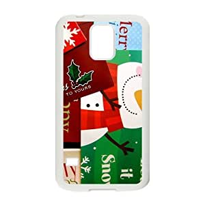 Best Christmas Wishes To You Hight Quality Plastic Case for Samsung Galaxy S5