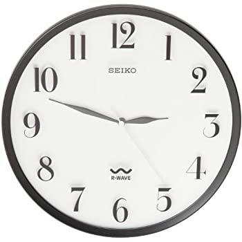 Amazon Com Seiko Wall Clock Quiet Sweep Second Hand Clock