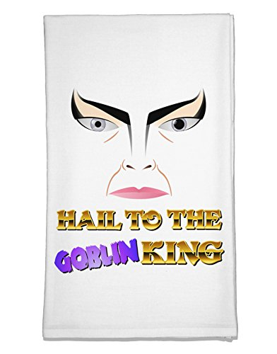 TooLoud Hail to the Goblin King Flour Sack Dish Towels (Goblin Outfit)