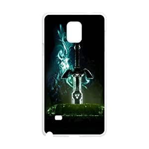 Samsung Galaxy Note 4 Cell Phone Case White The Legend Of Zelda 2 JSK875310