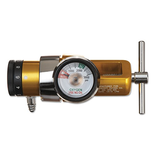 Click Style Oxygen Regulator - 2