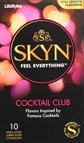 Lifestyles Skyn Cocktail Club Premium Flavored Condoms, 10 Count ()