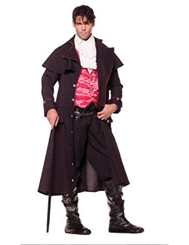 Underwraps Costumes Men's Vampire Costume - Count