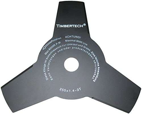Timbertech - Disco de 3 puntas para desbrozadora - diámetro ...