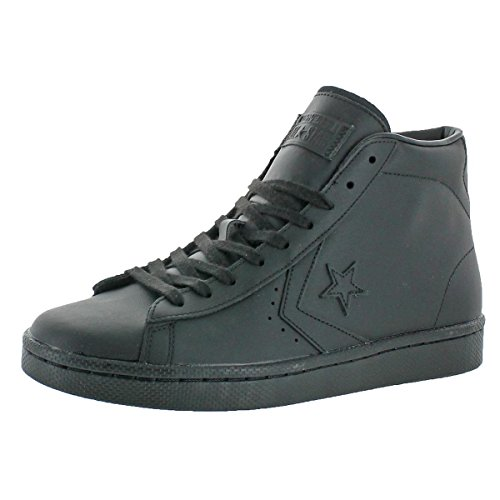 Mens Converse Work Shoes - Converse Mens High-Top Skate Fashion Sneakers Black 6 Medium (D)