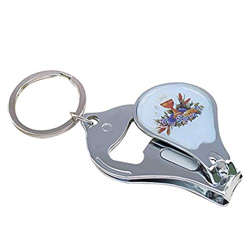 YRP 12 Pcs First Communion Keychain with Nail Clipper and Bottle Opener Party Favors for Baby Boys and Girls/ Recuerdos para Primera Comunion Niña Niño / Gift for Guests