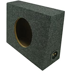 "ASC Single 12"" Subwoofer Universal Regular Standard Cab Truck Sealed Sub Box Speaker Enclosure"
