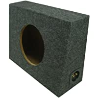 ASC Single 10 Subwoofer Universal Regular Standard Cab Truck Sealed Sub Box Speaker Enclosure