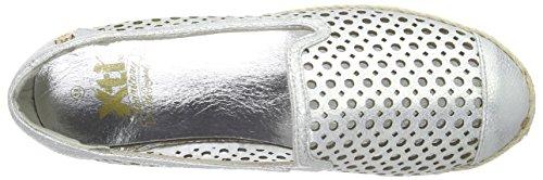 XTI 45230 - Alpargatas Mujer Plateado - Silber (Plata)