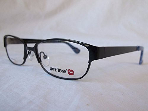 HOT KISS YOUTH TEEN EYEGLASS FRAME HK66 BLK BLACK 52-16-135 for $<!--$59.99-->