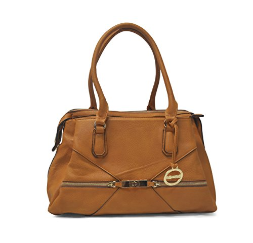 Sorrentino Sori Collection No. 781 Large Satchel (Camel)