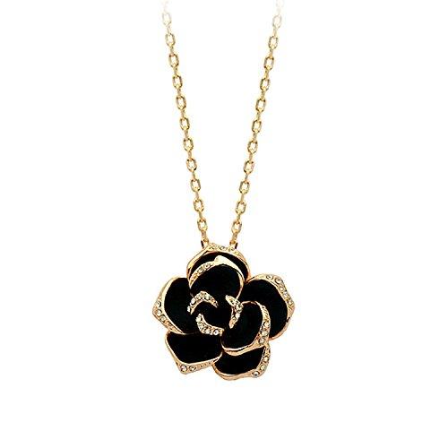 Diamond Drop Oil Rose Exquisite Necklace Mixed Batch 1