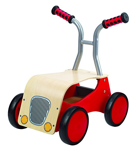 Hape Little Red Rider Wooden Kid's Ride on Bike