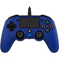 Nacon PS4OFCPADBLUE Wired Compact Controller for PlayStation® 4 - Blue