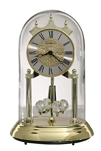 Silver Tone Pendulum - Christina Gold Anniversary Clock Howard Miller 645690
