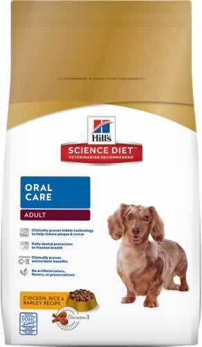 Hill'S Science Diet Adult Oral Care Dry Dog Food, 30-Pound Bag