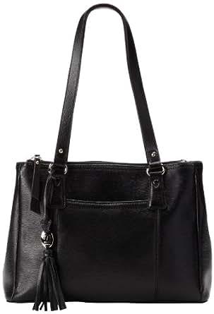 Tignanello Simple Sophisticate Shoulder Bag,Black,One Size
