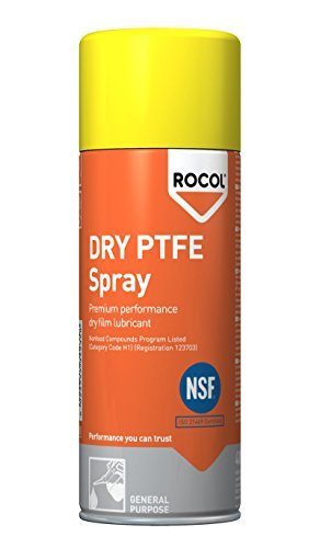 Amazon.com: Rocol 34235 400 ml seco PTFE Spray por Rocol ...