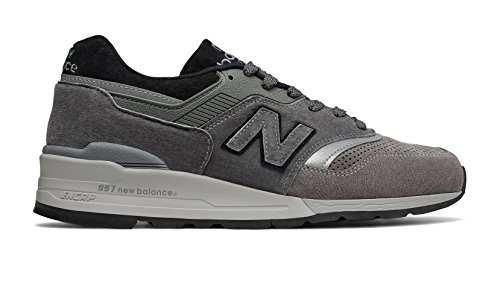 New Balance Men's M997BRK, Grey, 10.5 D US