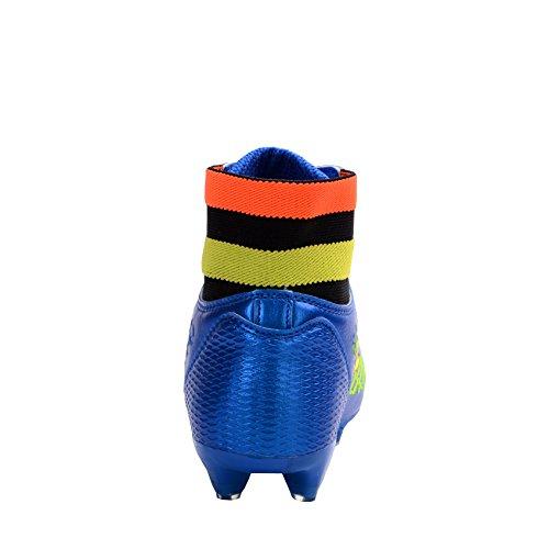 Ben Sport Per Bambini Adulti Mens Ragazzi Cool Fg / Ag Tacchetta Da Calcio Scarpe Da Calcio Scarpe Da Calcio Blu