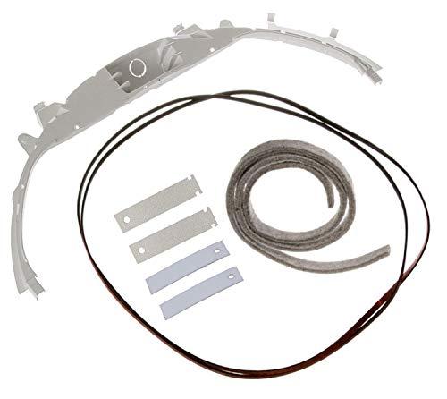 Dryer Bearing Kit 1 Bearing WE3M26, 2 Dryer Slides WE1M481 / WE1M1067, 2 Dryer Slides WE1M333 / WE1M504, 1 Belt WE12M29, 1 Felt WE9M30 / WE09X20441 (Ge Electric Dryer Parts)