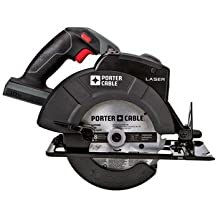 Factory-Reconditioned Porter-Cable PC18CSLR Tradesman 18V Cordless 6-1/2 in. Circular Saw with Laser (Bare Tool)