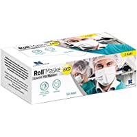 Roll Mask Medical Disposable EarLoop Face Masks Mouth Masks, Face Masks with Earloops, Anti-dust Windproof, Surgical…
