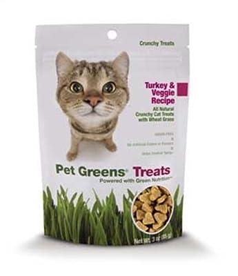 Pet Greens Treats Turkey & Veggie Crunchy Cat Treat from Bellrock Growers