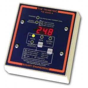 Meter Trimetric - Bogart TriMetric TM-2030-A-F 12/24/48V Battery Meter w/ Fuse